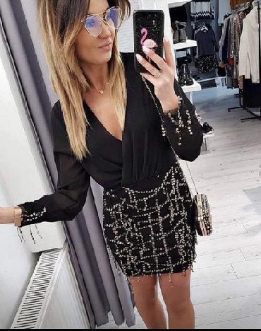 Haljina-please-italy - Srbija: Preslatka nova haljina sa etiketom. Velicina univerzalna, po mojoj