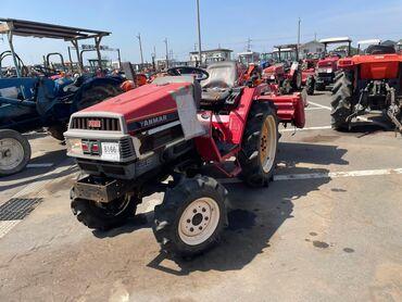 Сельхозтехника - Красный - Бишкек: Японский мини трактор Yanmar 175.  18 лошадей 3 цилиндр. 4вд. Водяное