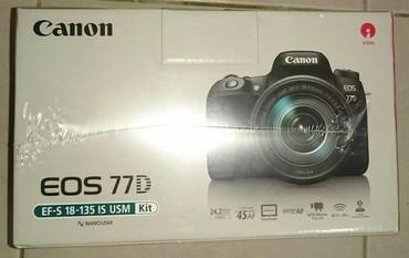 Canon 77D USM 18 - 135. Коробка не вскрытая. в Бишкек