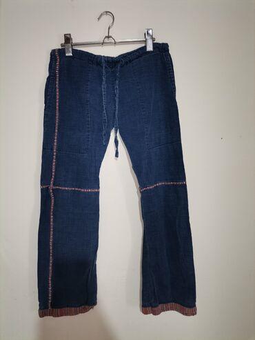 Pink jeans farmerke - Srbija: Farmerice bez ikakvih ostecenja Velicina XS ili S za nizu osobu Duzina