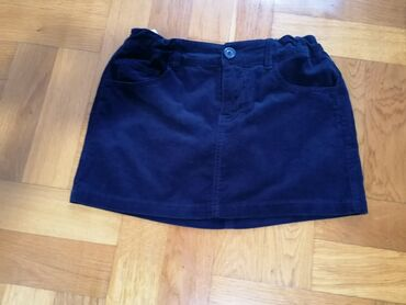 Suknjica jeans - Srbija: Benetton somot suknjica vel 150
