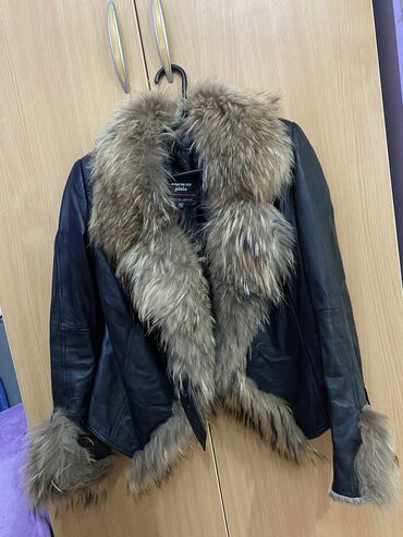Kozna jakna sa krznom - Srbija: Kozna jakna sa krznom rakuna