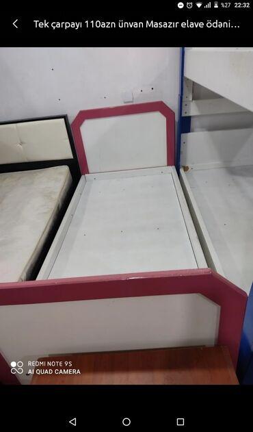 Tək çarpayı 110 AZN unvan Masazır əlavə ödənişlə çatdırılma mümkündür
