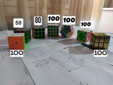 мичуринский квартал бишкек цены в Кыргызстан: Коллекция кубиков Рубика, все цены на фото