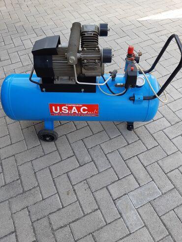 USAC kompresor 100l dvoklipni 260l/min uvezen iz Italije u odlicnom