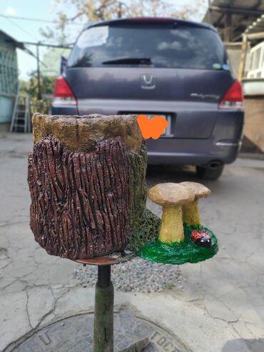 Вазон из цемента, для цветов и растений
