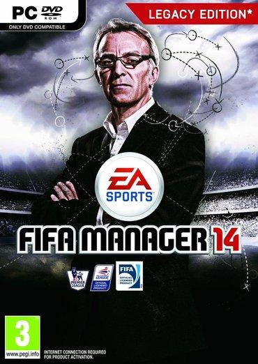 FIFA Manager 14 igra za pc (racunar i lap-top)   ukoliko zelite - Boljevac