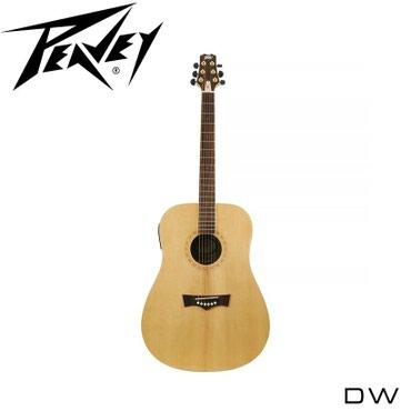 Гитара: Акустическая гитара Peavey DW - отличный выбор для новичка и л