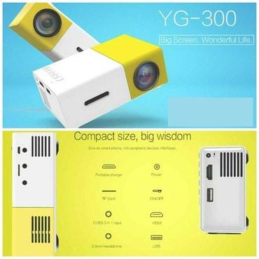 projector - Azərbaycan: YG300 midel mini led proyektorhdmi girisi var. usb ve mikro yaddas