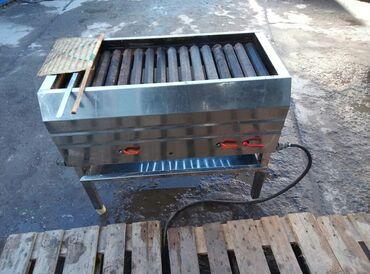 smoker koptilnja gril mangal в Кыргызстан: Мангал работает на газе производство Иран