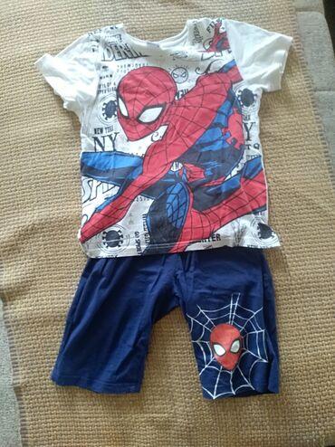 Ostala dečija odeća | Mladenovac: Spiderman pidzamavelicina 122 (7 godina).Nova. 100% pamuk. Zemlja