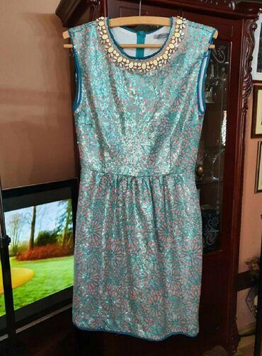 P s haljina - Srbija: NOVA P.S. HALJINA 38 Vrlo efektna, glamurozna, nakit Vam uz nju ne