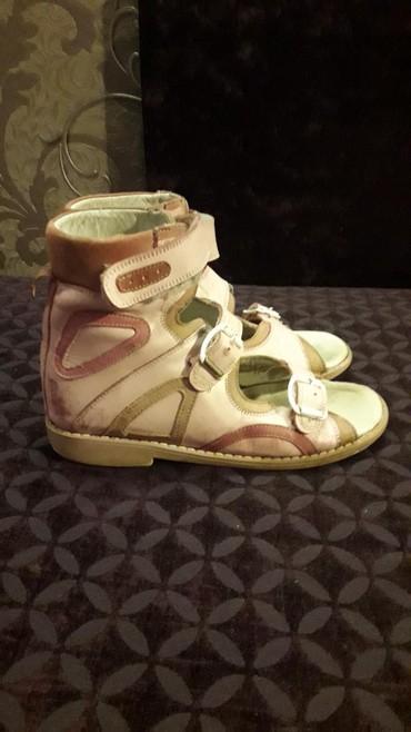берцы американские в Кыргызстан: Продаются кожаные ортопедические сандали. С высоким берцем, каблук