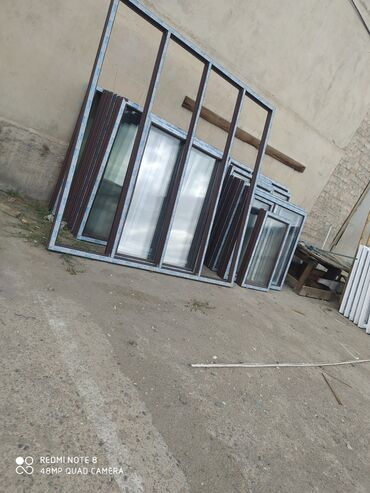 металл бишкек цены в Кыргызстан: Пластиковые и алюминиевые окна, двери на заказ!!Высокое