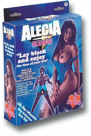 Sexy - Srbija: Alecia King sexy lutka crnkinje na naduvavanje NMC0,00