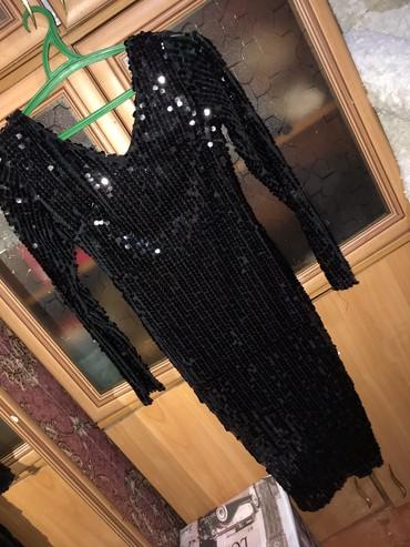 юбка в паетках в Кыргызстан: Размер - XS платье в паетках. Ниже колен. Новое