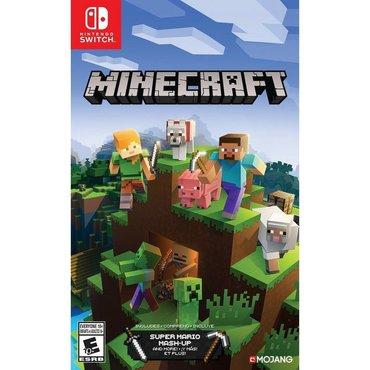 Nintendo DS & DSi Azərbaycanda: Nintendo switch üçün Minecraft oyunu