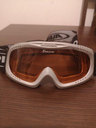 Sport i hobi - Sremska Mitrovica: *** ALPINA NAOCARE ***-Naocare za skijanje ALPINA ORIGINAL-Naocare su
