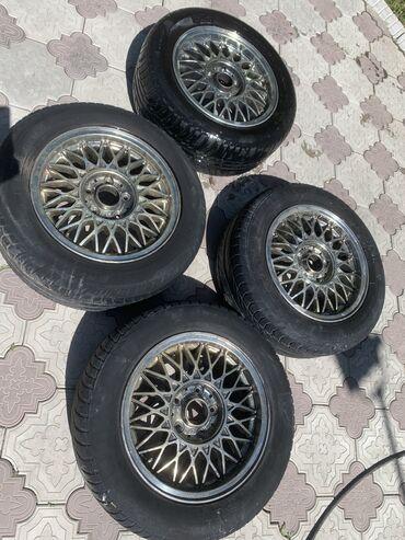 Срочно продаю редкие диски bbs с шинами R15/205/60 лето протектора от