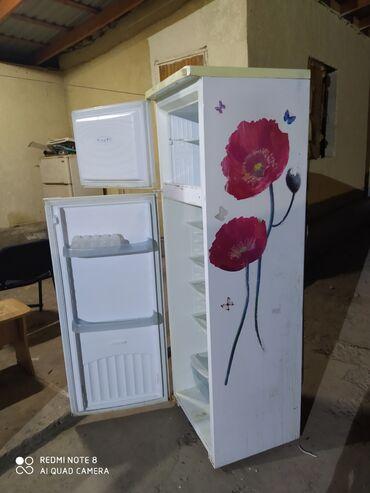 Б/у Двухкамерный | Белый холодильник
