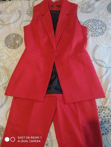 Новвй костюм двойка женский костюм жилетка и брюки ! Размер 46 48