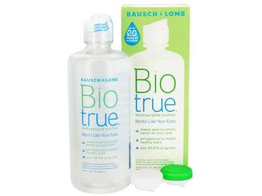Раствор для контактных линз Bausch & Lomb – BioTrue предназначен