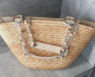 Pletena jaknica - Srbija: Pletena torba, 1500 din
