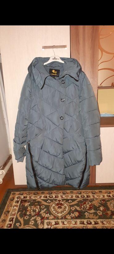 Зимний пуховик в размере L-XL Надевала 2-3 разаЦена 1000 сом, покупала