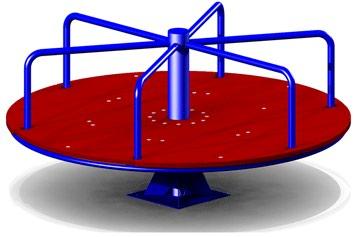 Детская карусель купить Артикул: К27 Размер: 1200*1200*800 мм в Бишкек
