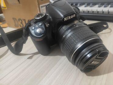 штатив для камеры в Кыргызстан: Фотоаппарат б/у Nikon D3100  Nikon D3100 с объективомNikkor 18-55mm F