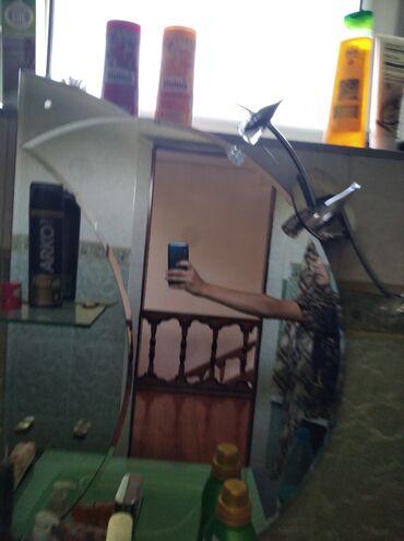 Зеркала - Кыргызстан: Зеркало для ванны б.у 500сом