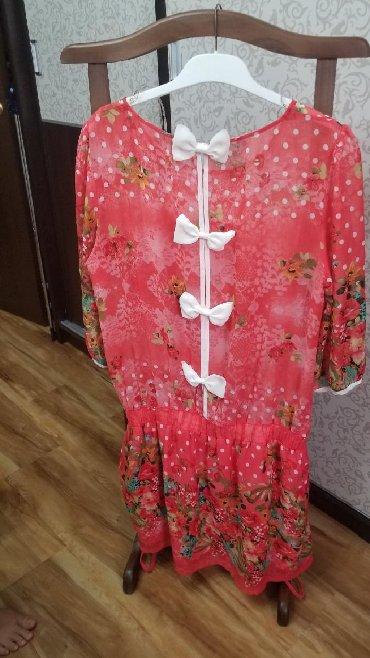 платье из вискозы на лето в Кыргызстан: Продаю шифоновое платье на лето