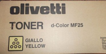 Olivetti 8938-522, toner cartridge  giallo yellow, d-color mf25- σε Πάρος