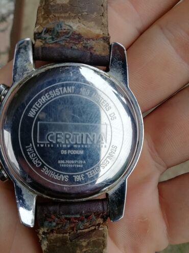 11 elan | ŞƏXSI ƏŞYALAR: Saat işlek veziyetdedir CERTINA markasıdır googlede axtarıb qiymetine