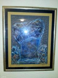 Crnogorska nosnja - Srbija: Slikar dušanka trkulja. Naslikana skulptura crnogorskog vajara mija