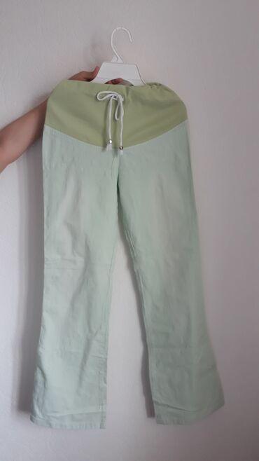 Продаю б/у штанишки для беременных,сделаны из льна идеальны на