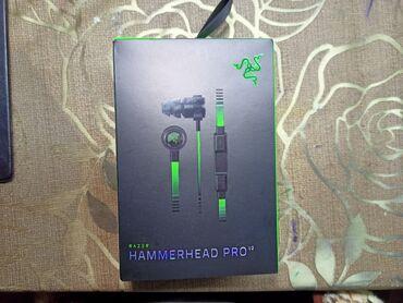 Razer Hammerhead PRO V2 Tam originaldir, Americadan alinmişdir, əsl
