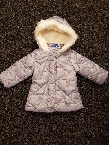 Zimske-kape-o - Srbija: Snizena na 1600  Zimska jakna za devojčice  Br. 86 (12-18)