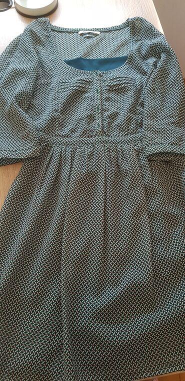 Zelena haljina bershka