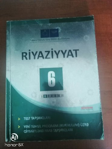 kankiler qiymeti - Azərbaycan: Riyaziyyat 6-cı sinif. Qiymet sondur
