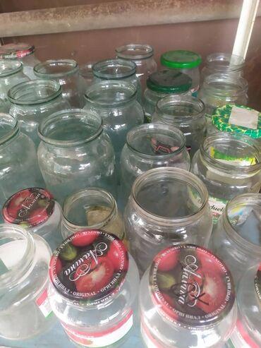 Продаю супер отличные стеклянные банки трех-,литровые и всякая мелочь