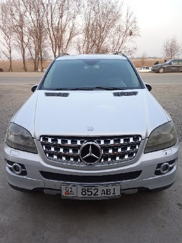 Mercedes-Benz в Кыргызстан: Mercedes-Benz ML 320 3 л. 2006