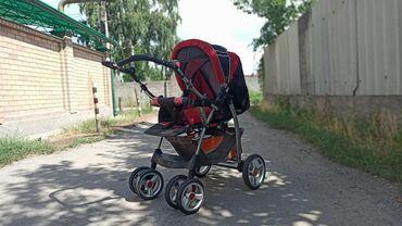 прогулочную коляску лёгкая и удобна в Кыргызстан: Продаю детскую коляску. Состояние отличное, пользовались очень