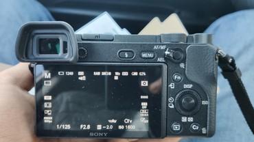 Sony A6300 объектив Canon ef-s 24mm STM в Бишкек
