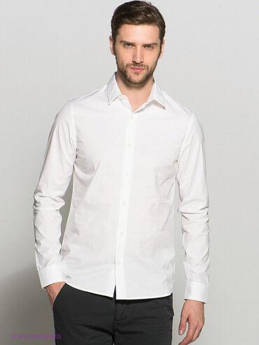 Белые рубашки ck calvin klein. Большие размеры 44 и 45. Количество