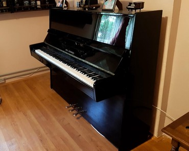 Klaviri, fortepiana | Srbija: Pianino-klavir, ocuvan u odlicnom stanju, dupla mehanika. Sve sto Vas