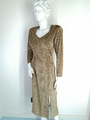 Haljine | Bor: Plisana haljina, bez ostecenja.Velicina: S/MMere:Poluobim ramena