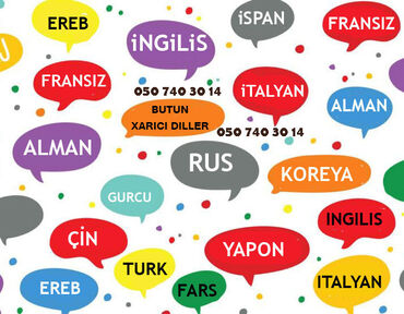 Rus dili kurslari ve qiymetleri - Азербайджан: Языковые курсы   Английский, Арабский, Испанский