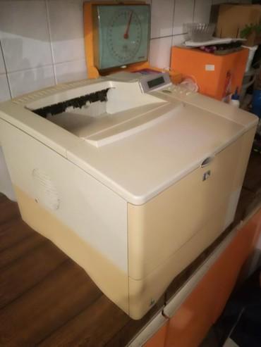 Skeneri | Srbija: Profesionalna štampač HP laserjet 4100 n, ispravan bez ketridza