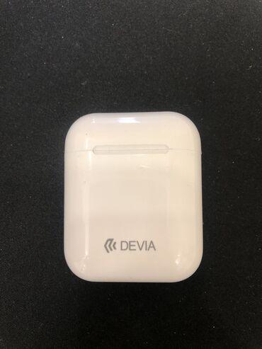 ear pods в Кыргызстан: Air-Pods под оригинал DEVIA подходит для IPhone и Redmi. Как новые